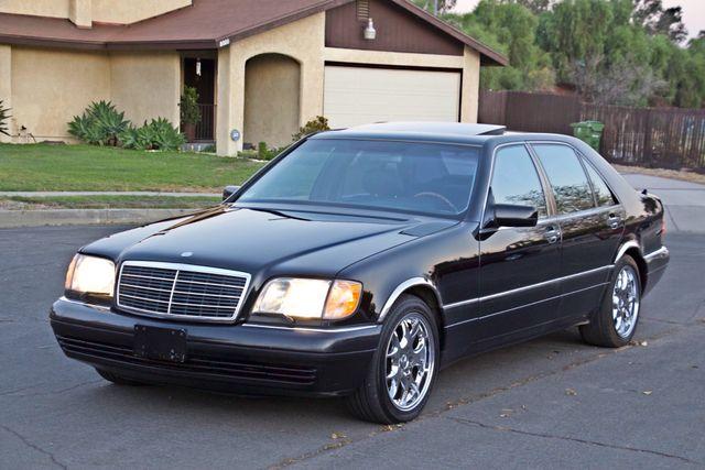 1998 Mercedes-Benz S420 SEDAN AUTOMATIC  NEW TIRES SERVICE RECORDS! Woodland Hills, CA 9