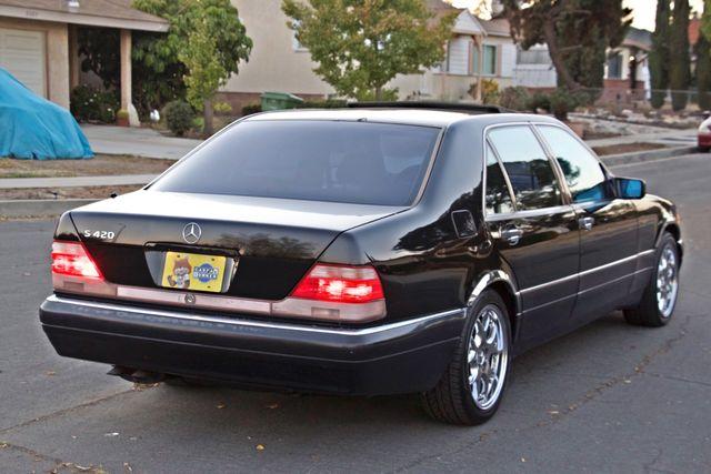 1998 Mercedes-Benz S420 SEDAN AUTOMATIC  NEW TIRES SERVICE RECORDS! Woodland Hills, CA 5