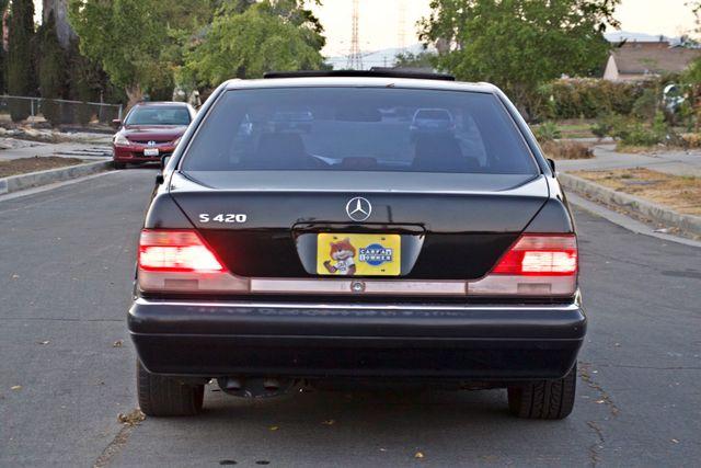 1998 Mercedes-Benz S420 SEDAN AUTOMATIC  NEW TIRES SERVICE RECORDS! Woodland Hills, CA 4