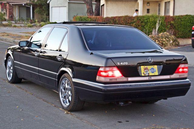 1998 Mercedes-Benz S420 SEDAN AUTOMATIC  NEW TIRES SERVICE RECORDS! Woodland Hills, CA 3
