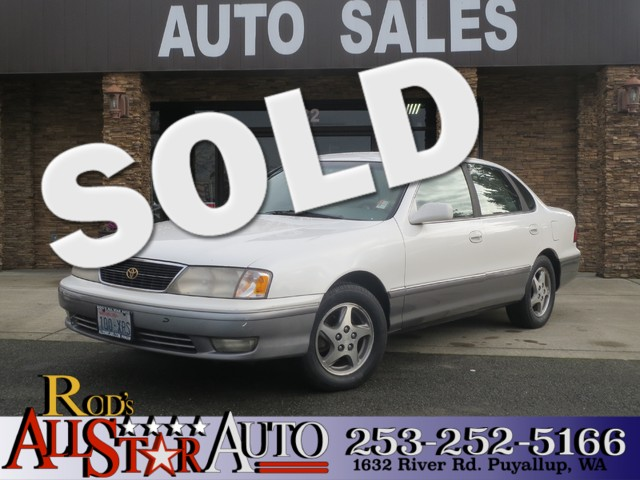 1998 Toyota Avalon XL The CARFAX Buy Back Guarantee that comes with this vehicle means that you ca