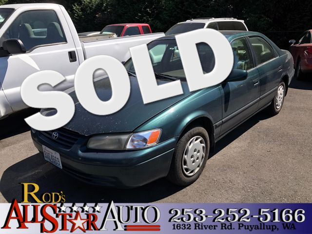 1998 Toyota Camry LE The CARFAX Buy Back Guarantee that comes with this vehicle means that you can