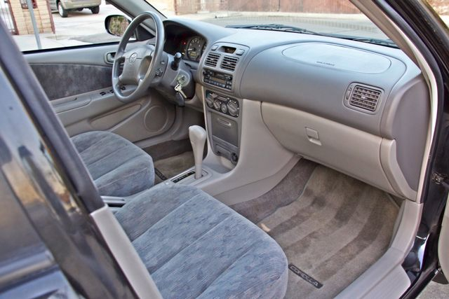 1998 Toyota COROLLA LE 1-OWNER 29K MLS  AUTOMATIC A/C POWER WINDOWS SERIVCE RECORDS! Woodland Hills, CA 23