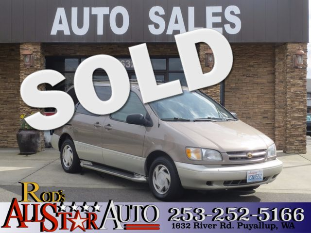 1998 Toyota Sienna XLE The CARFAX Buy Back Guarantee that comes with this vehicle means that you c