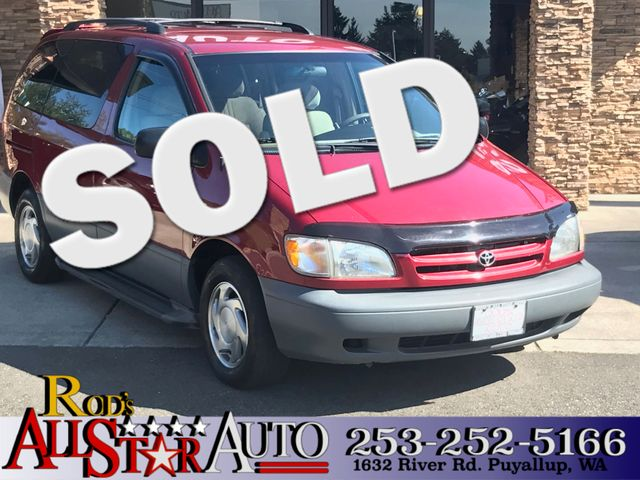 1998 Toyota Sienna LE The CARFAX Buy Back Guarantee that comes with this vehicle means that you ca