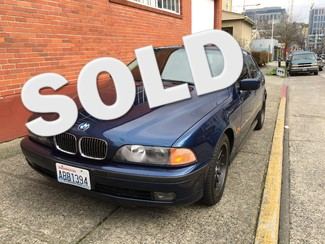1999 BMW 540i Sport Sedan 6-Speed Manual Sport     Package Xenons Just Spent $11,000 In Repairs Seattle, Washington