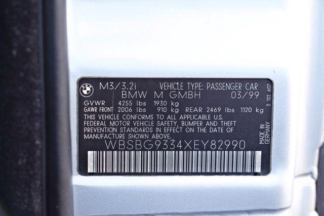 1999 BMW M Models M3 COUPE MANUAL 104K ORIGINAL MLS NEW TIRES SERVICE RECORDS! Woodland Hills, CA 32