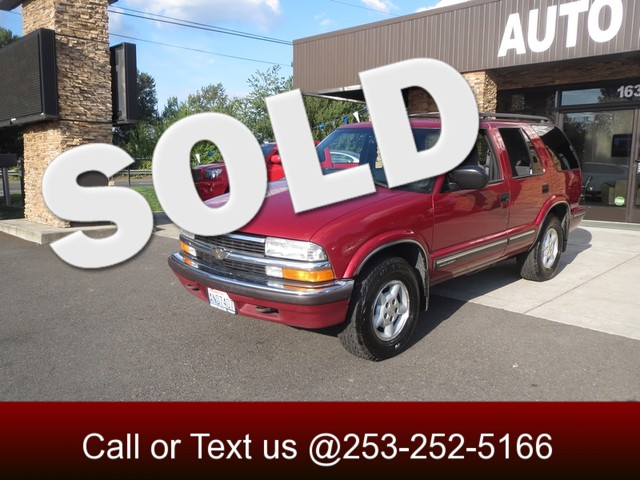 1999 Chevrolet Blazer 4WD The CARFAX Buy Back Guarantee that comes with this vehicle means that yo