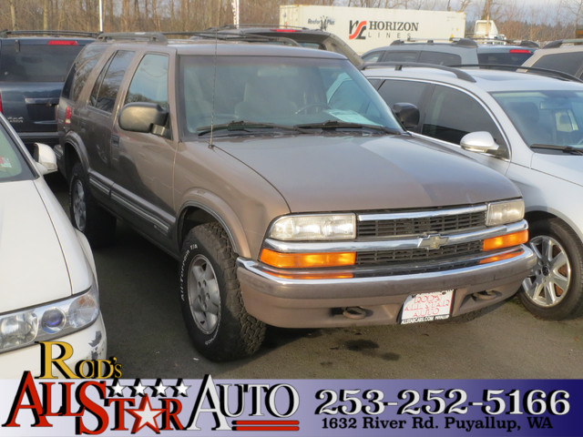 1999 Chevrolet Blazer LS 4WD Runs and Drives No lights on the dash Yea obviously our used Blazer