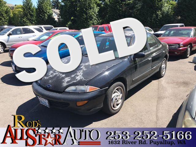 1999 Chevrolet Cavalier LS The CARFAX Buy Back Guarantee that comes with this vehicle means that y