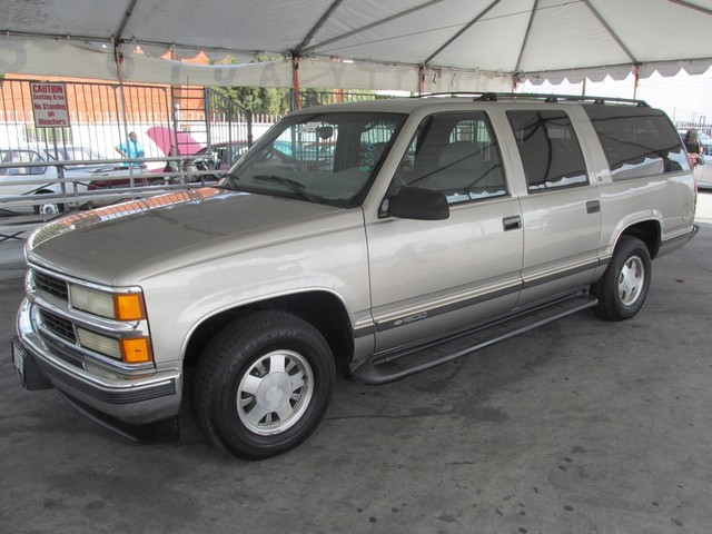 1999 Chevrolet Suburban This particular Vehicle comes with 3rd Row Seat Please call or e-mail to