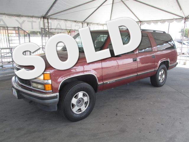 1999 Chevrolet Suburban Please call or e-mail to check availability All of our vehicles are ava