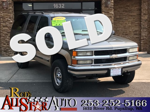 1999 Chevrolet Suburban 4WD The CARFAX Buy Back Guarantee that comes with this vehicle means that