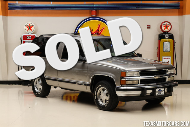1999 Chevrolet Tahoe This 1999 Chevrolet Tahoe is in great shape with only 145 952 miles The Tah