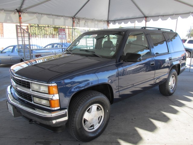 1999 Chevrolet Tahoe Z71 Please call or e-mail to check availability All of our vehicles are ava