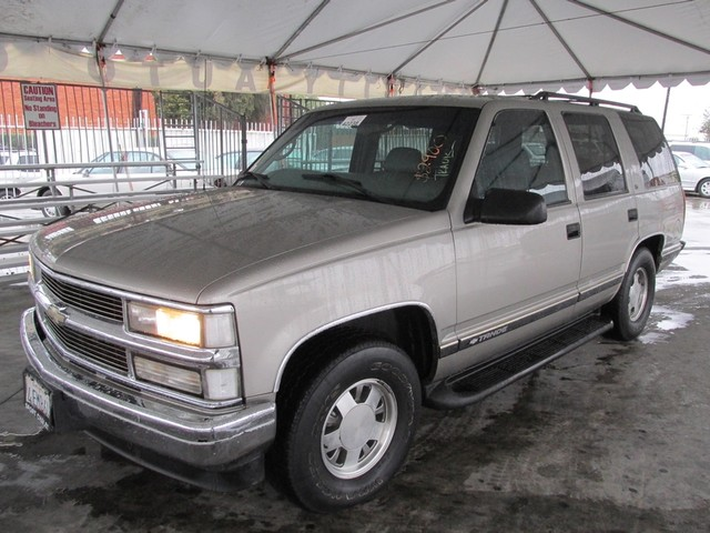 1999 Chevrolet Tahoe Please call or e-mail to check availability All of our vehicles are availab