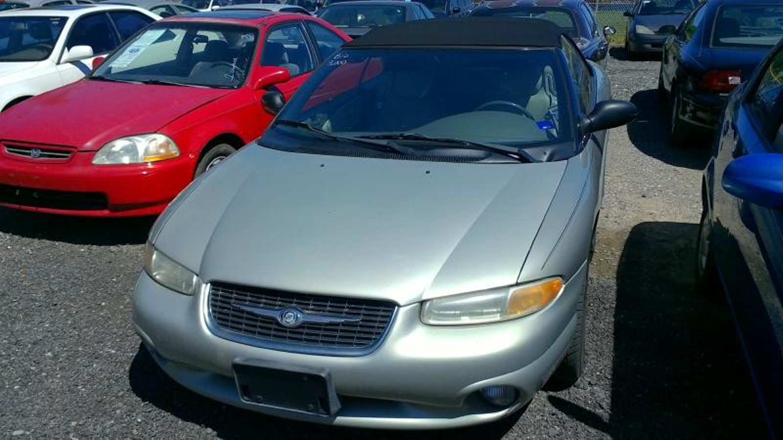 1999 chrysler sebring jxi city md south county public auto. Black Bedroom Furniture Sets. Home Design Ideas
