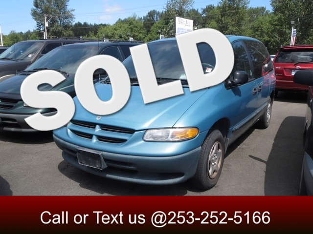 1999 Dodge Caravan The CARFAX Buy Back Guarantee that comes with this vehicle means that you can b