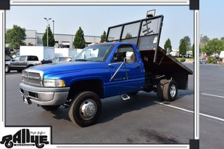 1999 Dodge 3500 Ram 5.9L V8 Flatbed Dump Burlington, WA