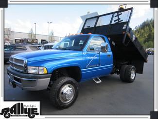 1999 Dodge Ram BR3500 Flatbed Dump Burlington, WA