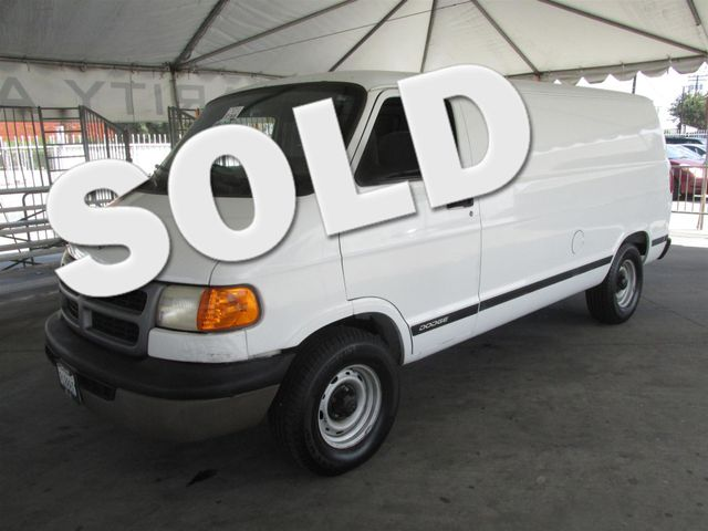 1999 Dodge Ram Van This particular vehicle has a SALVAGE title Please call or email to check avai