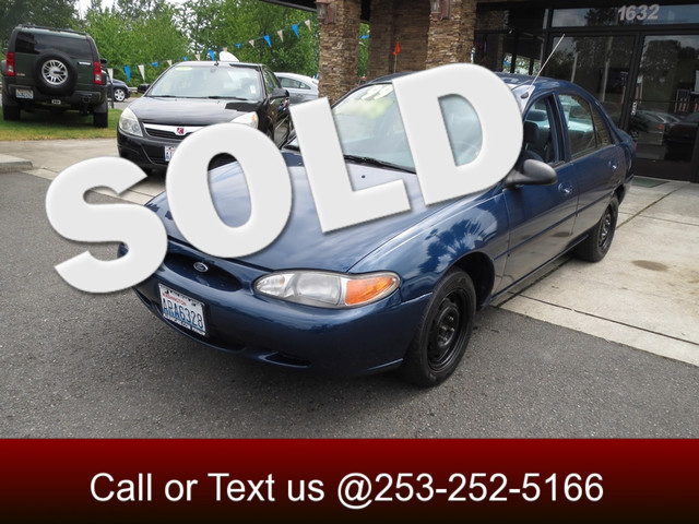 1999 Ford Escort LX The CARFAX Buy Back Guarantee that comes with this vehicle means that you can