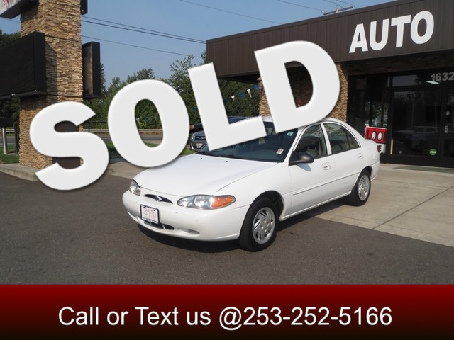 1999 Ford Escort SE The CARFAX Buy Back Guarantee that comes with this vehicle means that you can