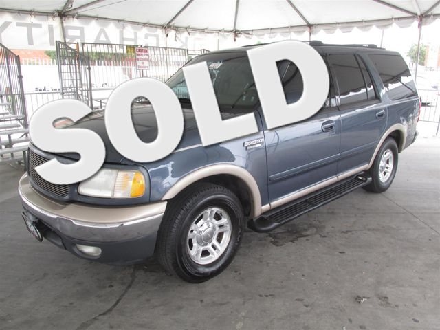 1999 Ford Expedition Eddie Bauer This particular Vehicle comes with 3rd Row Seat Please call or e