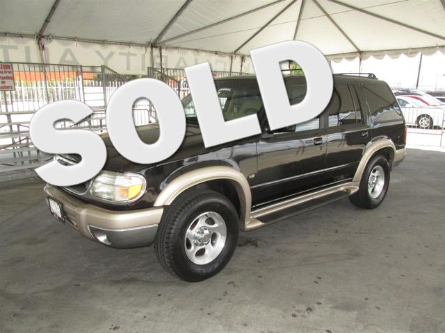 1999 Ford Explorer Eddie Bauer Please call or e-mail to check availability All of our vehicles