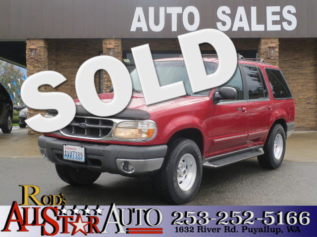 1999 Ford Explorer XLT 4WD The CARFAX Buy Back Guarantee that comes with this vehicle means that y