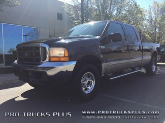 1999 Ford F350  4x4 Powerstroke 7.3 Diesel Lariat Long Bed Crew Cab 1-Owner  in Livermore California
