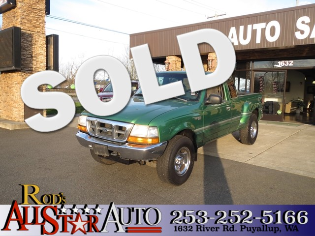 1999 Ford Ranger XLT 4WD The CARFAX Buy Back Guarantee that comes with this vehicle means that you