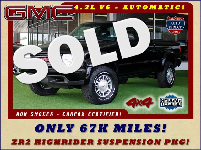 1999 GMC Sonoma SLS ZR2 EXT Cab 4x4 - ONLY 67K MILES! Mooresville , NC 0