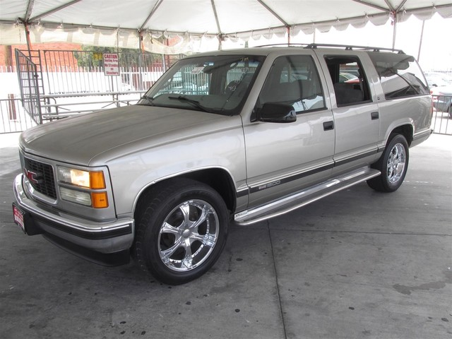 1999 GMC Suburban This particular Vehicle comes with 3rd Row Seat Please call or e-mail to check