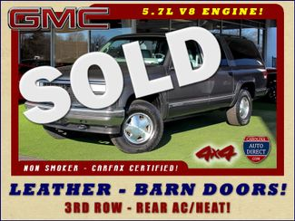1999 GMC Suburban SLT 4X4 - LEATHER BUCKETS - BARN DOORS! Mooresville , NC