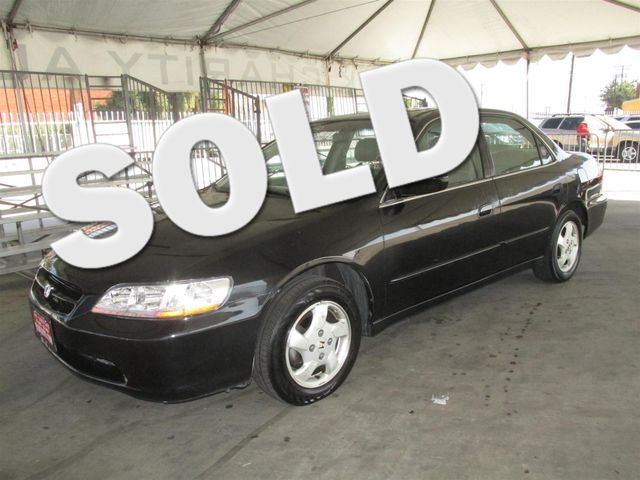 1999 Honda Accord EX This particular vehicle has a SALVAGE title Please call or email to check av