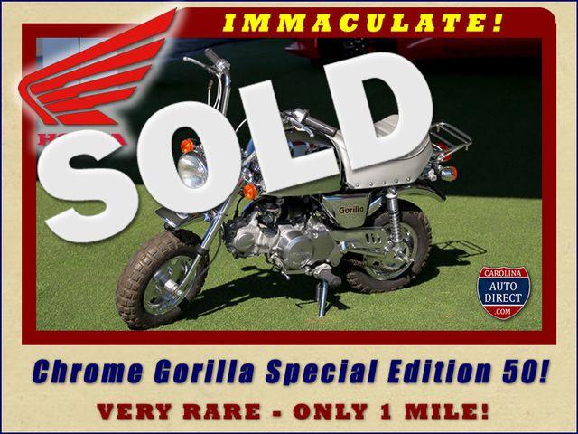 1999 Honda Chrome Gorilla Special Edition 50 - VERY RARE! Z50 Mooresville , NC 0
