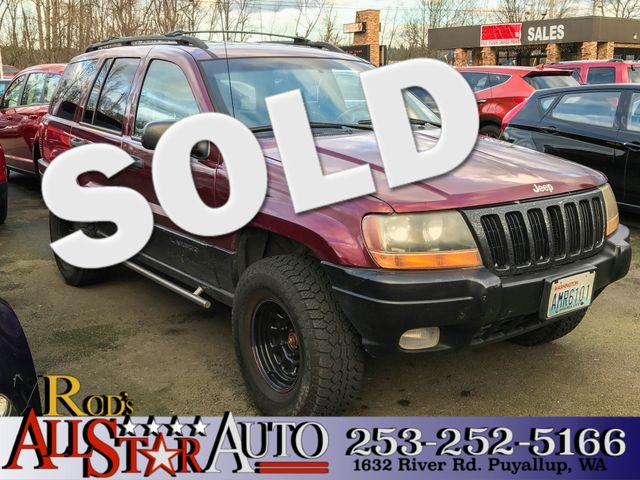 1999 Jeep Grand Cherokee Laredo 4WD The CARFAX Buy Back Guarantee that comes with this vehicle mea