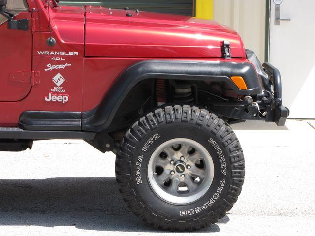 1999 Jeep Wrangler Sport Jacksonville , FL 8
