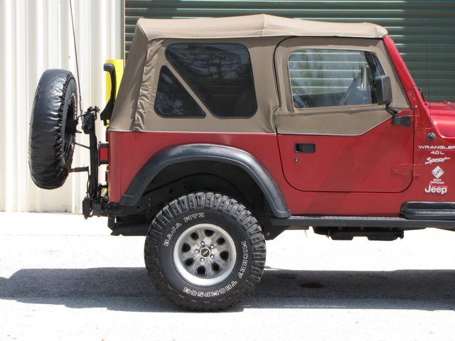 1999 Jeep Wrangler Sport Jacksonville , FL 9