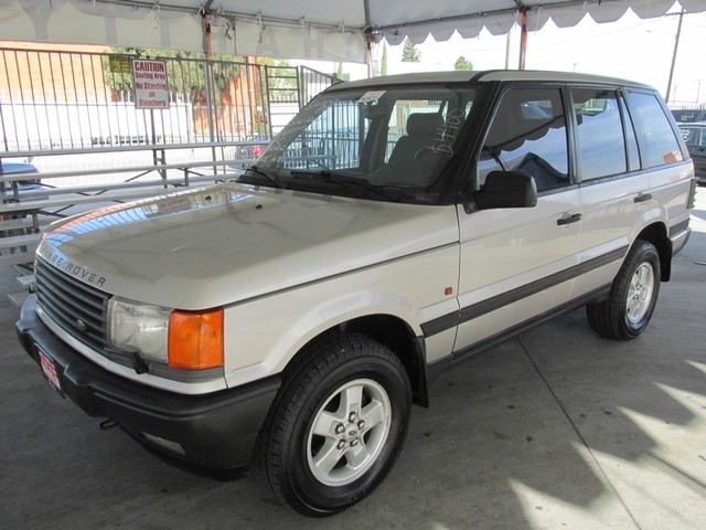 1999 Land Rover Range Rover 40 SE Please call or e-mail to check availability All of our vehicl
