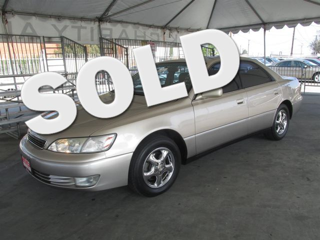 1999 Lexus ES 300 Luxury Please call or e-mail to check availability All of our vehicles are av