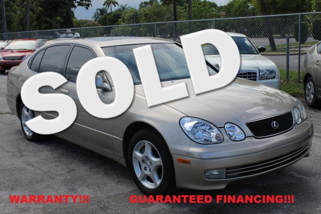 1999 Lexus GS 300 Luxury  WARRANTY LOW MILES  FLORIDA VEHICLE If you are looking for a Le