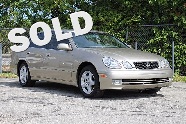 1999 Lexus GS 300 Luxury  WARRANTY CARFAX CERTIFIED AUTOCHECK CERTIFIED VEHICLE TRADES WELC