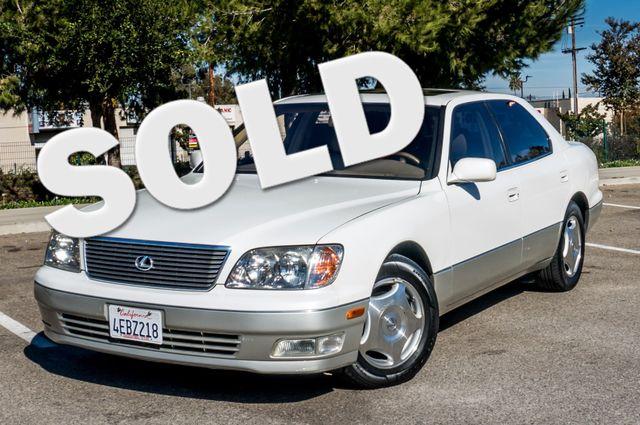 1999 Lexus LS 400 Luxury Sdn Reseda, CA 0