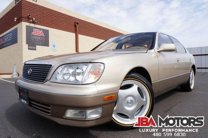 1999 lexus ls 400 luxury package ls400 sedan mesa az