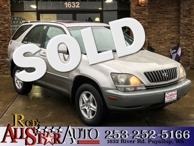1999 Lexus RX 300 Luxury AWD This vehicle is a CarFax certified one-owner used car Pre-owned vehi