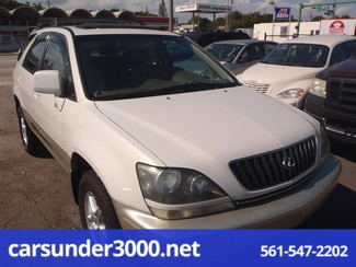 1999 Lexus RX 300 Luxury SUV Lake Worth , Florida 0