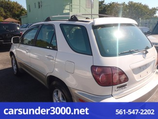 1999 Lexus RX 300 Luxury SUV Lake Worth , Florida 2
