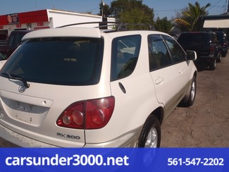 1999 Lexus RX 300 Luxury SUV Lake Worth , Florida 3